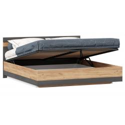 Фиджи антрацит кровать двуспальная с подъёмным механизмом 1800