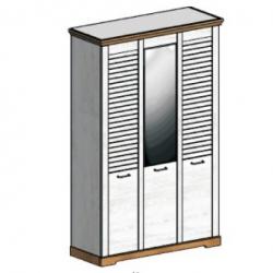 СГ Кантри шкаф 3-х дверный 1460