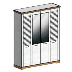 СГ Кантри шкаф 4-х дверный 1860