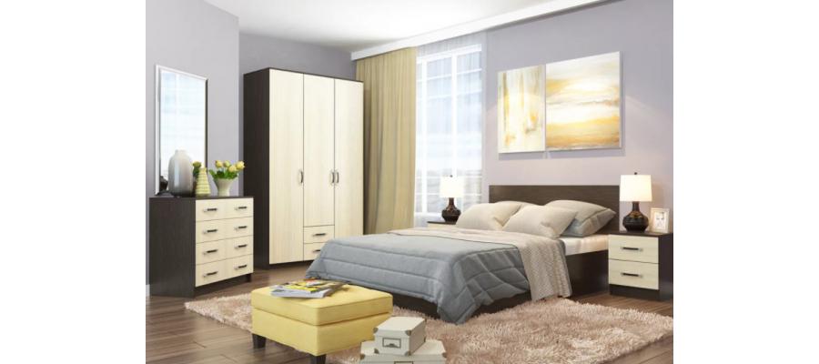 Спальня модульная Ронда ДСВ