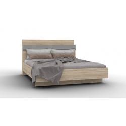 Lucido кровать-01 с фанерным основанием на ламелях 1400