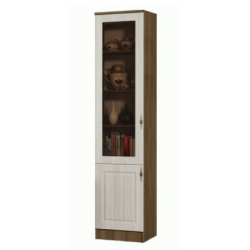 Ницца шкаф одностворчатый стекло 450.2