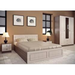 Спальня модульная Ницца комплект 1