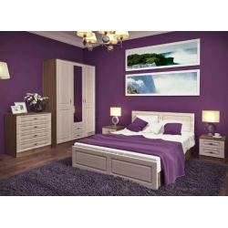 Спальня модульная Ницца комплект 2