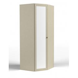Twist шкаф угловой фасад зеркало 940