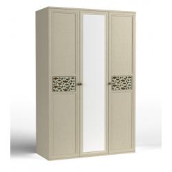 Twist шкаф для одежды-03 фасад зеркало 1500